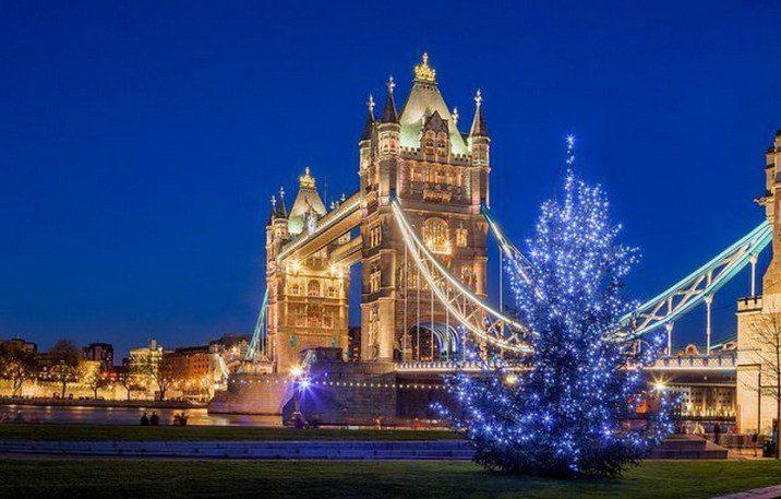 Αγγλία Χριστούγεννα