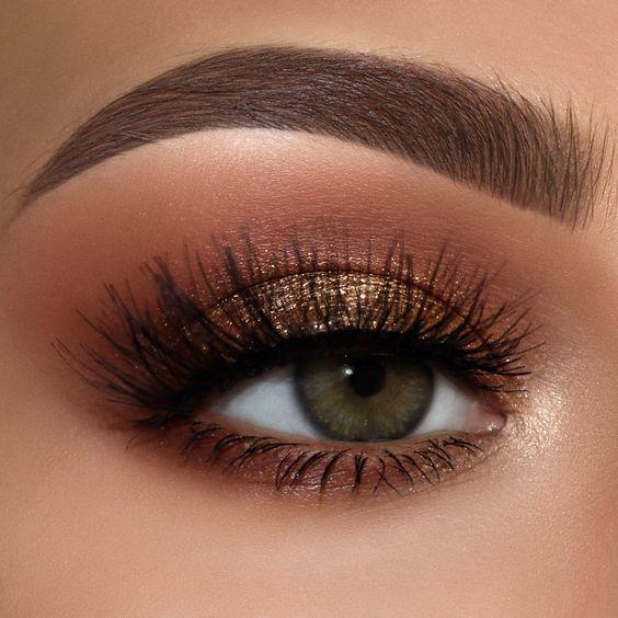 bronze μακιγιάζ για πρασινα ματια
