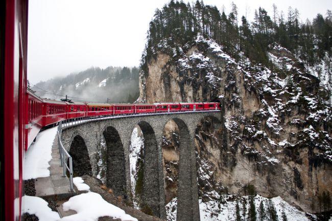 Αλπικό τρένο