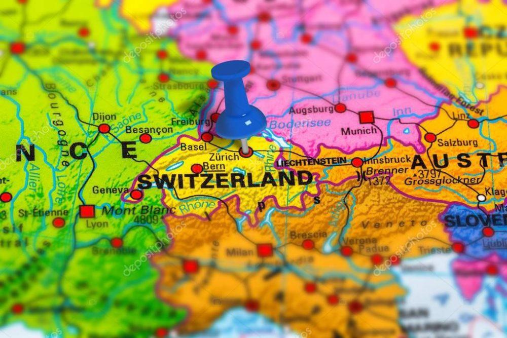 Χάρτης Ελβετίας
