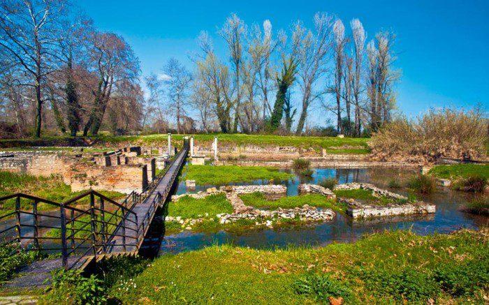 Δίον Πιερίας αρχαιολογικό πάρκο