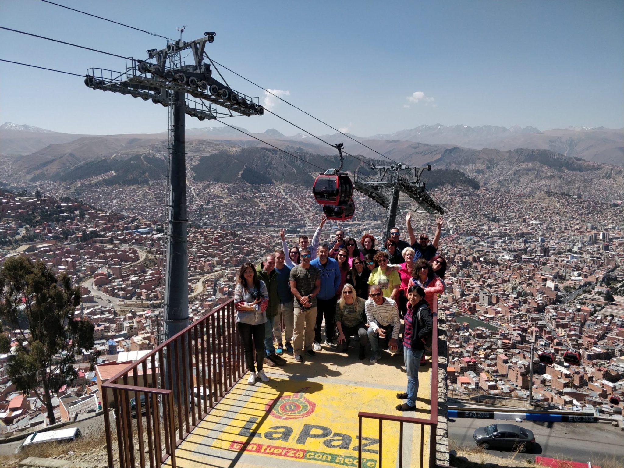 Με την παρέα των locasbotas.gr στη La Paz
