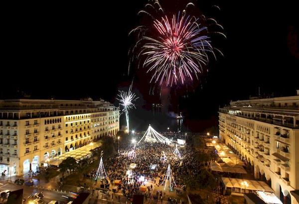 Χριστούγεννα στη Θεσσαλονίκη