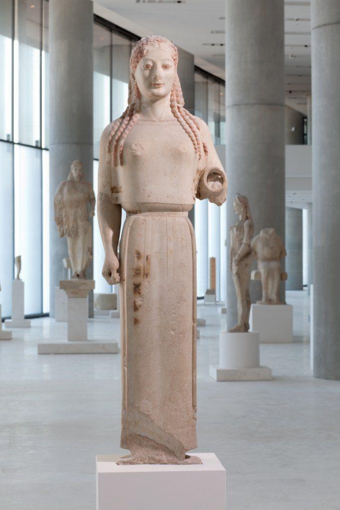 Η Πεπλοφόρος από την Ακρόπολη: Το Ομιλούν Άγαλμα