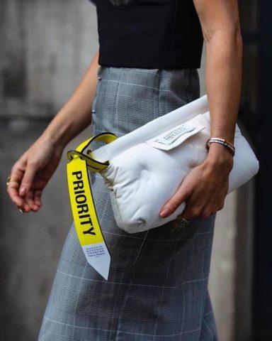 Athletic clutch bag