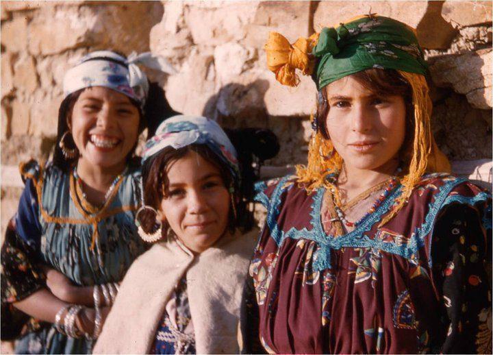 αυτόχθονες πληθυσμοί Βέρβεροι (Άμαζαϊτ)
