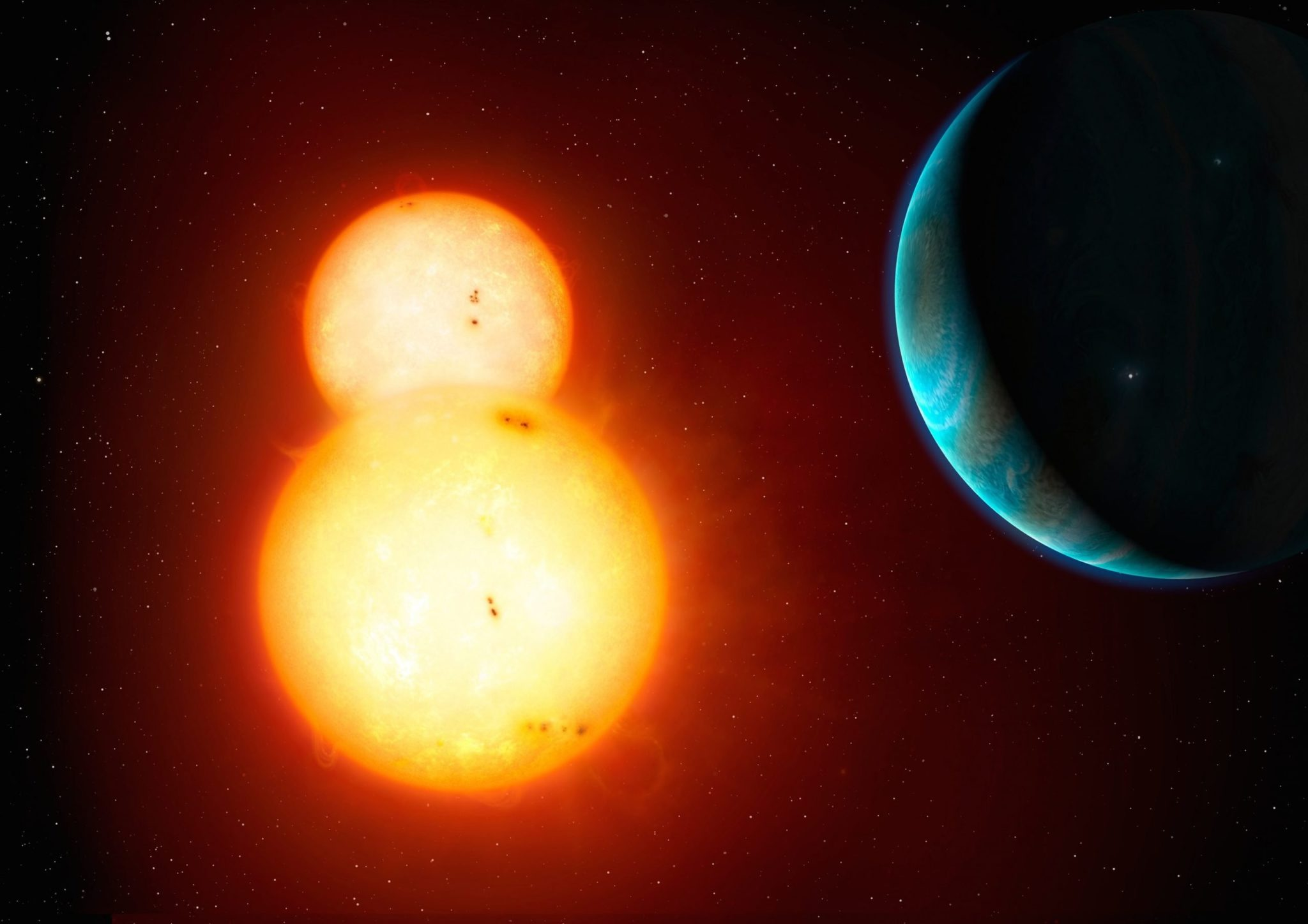 εξωπλανήτης, διπλό αστρικό σύστημα