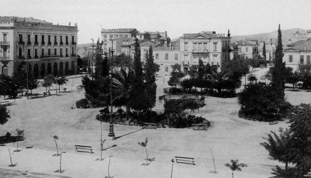 Πλατεία Ομονοίας 1889