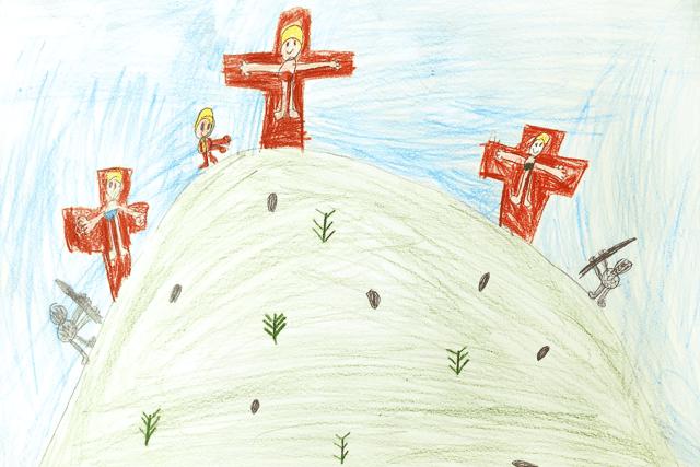 Το Πάσχα μέσα από τα μάτια του Αναστάση Ράδη (2 ετών)