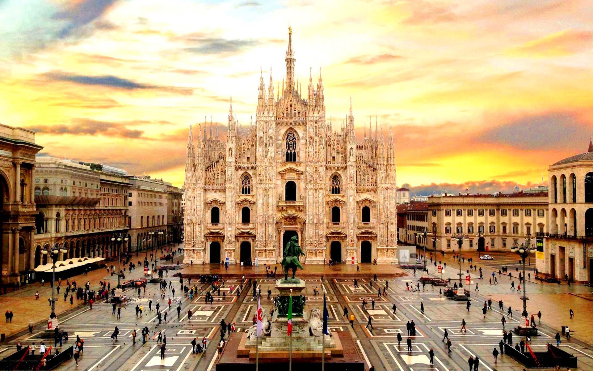αρχιτεκτονική, Μιλάνο, Ιταλία