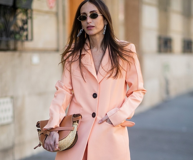 pastel suit