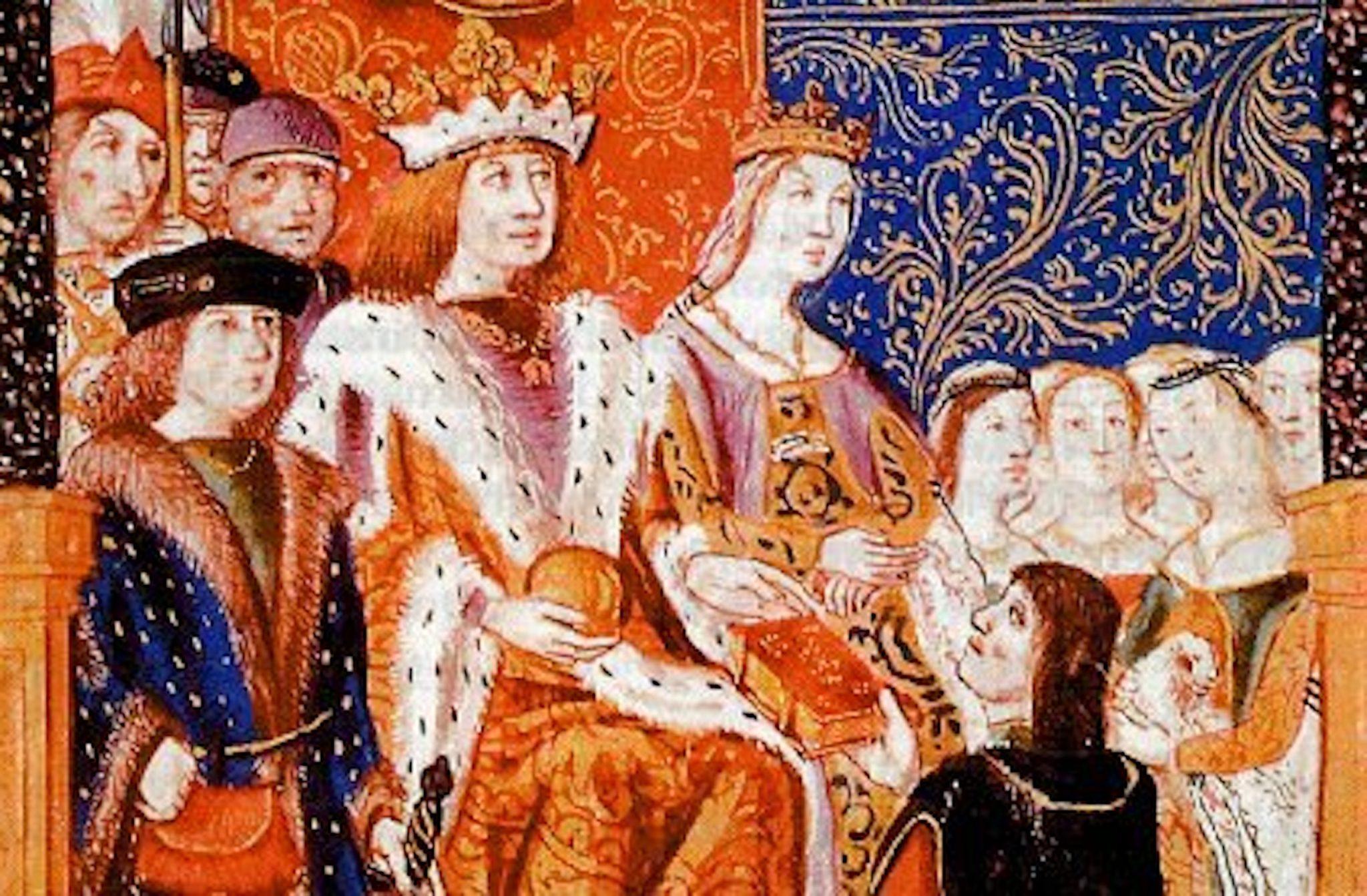 Ο Φερδινάνδος Β' της Αραγωνίας και η Ισαβέλλα Α' της Καστίλης, εισηγητές του Διατάγματος της Αλάμπρα, πηγή εικόνας: a8inea.com