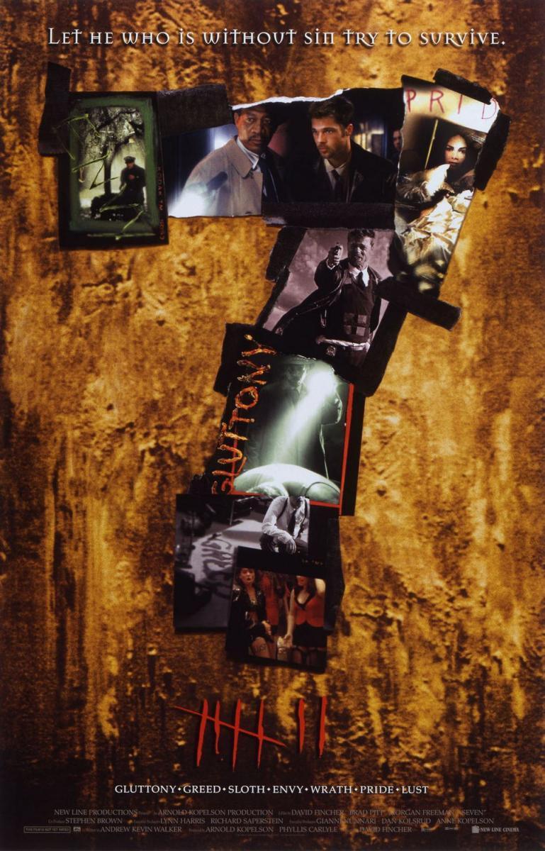 Μία από τις αφίσες της ταινίας Seven (Εφτά)