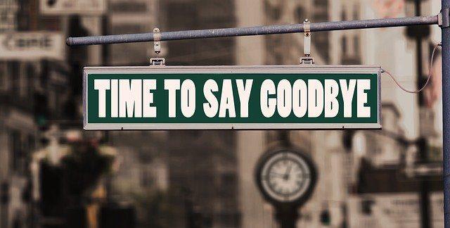 Ώρα για αντίο