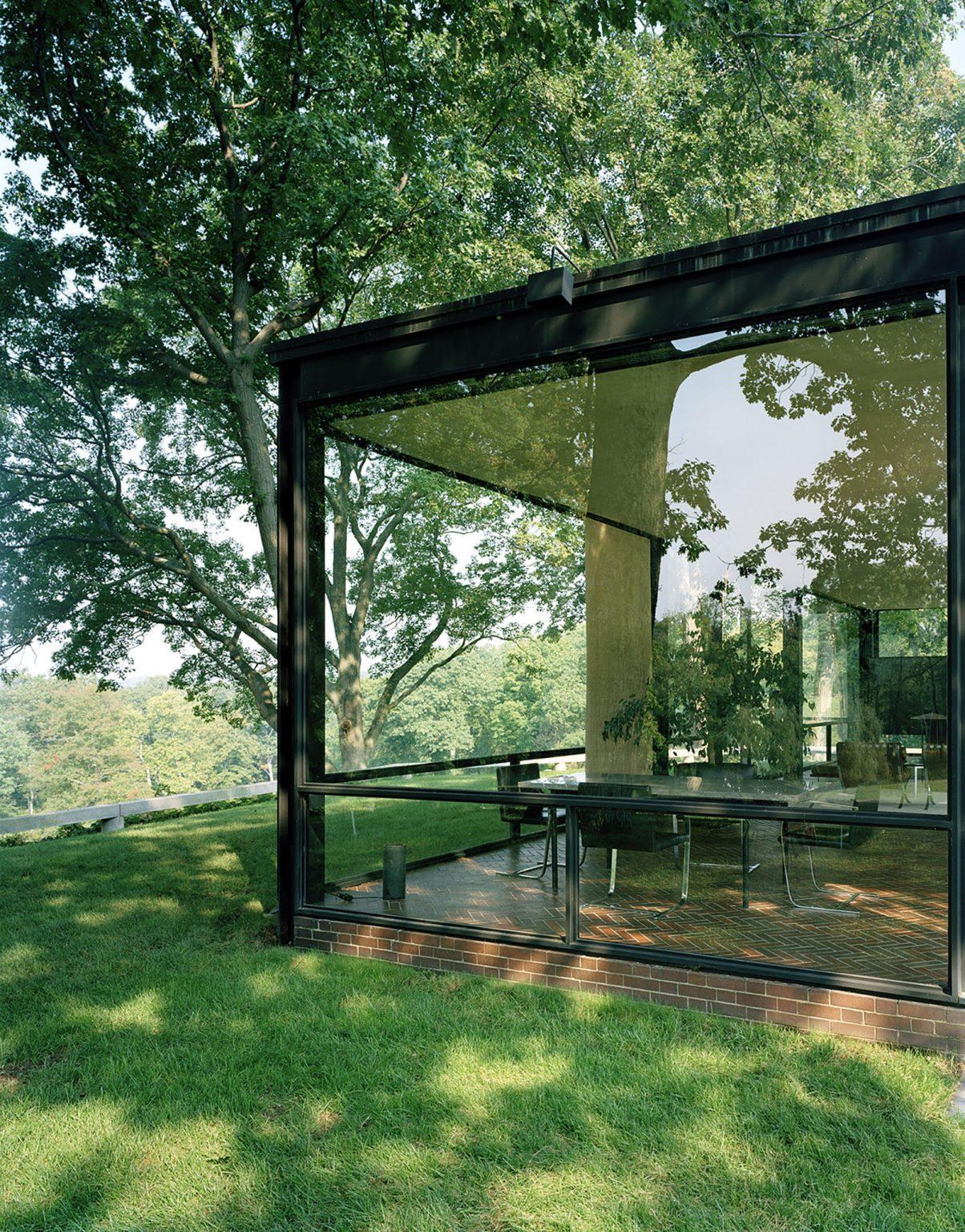 γυαλί : αρχιτεκτονική και διαφάνεια