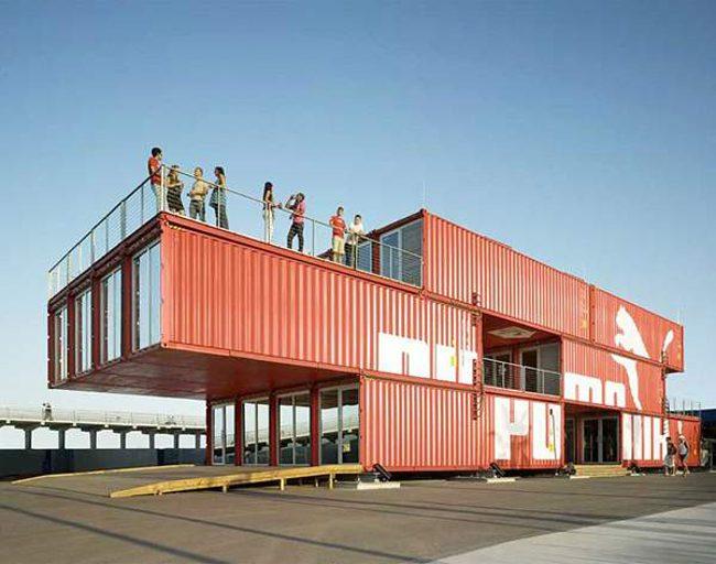αρχιτεκτονική με container
