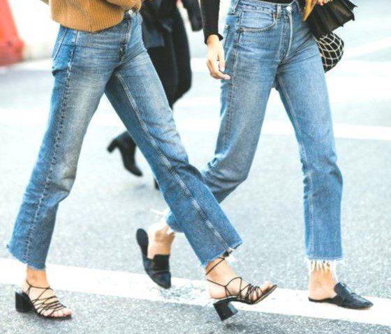 παπούτσια για cropped jeans