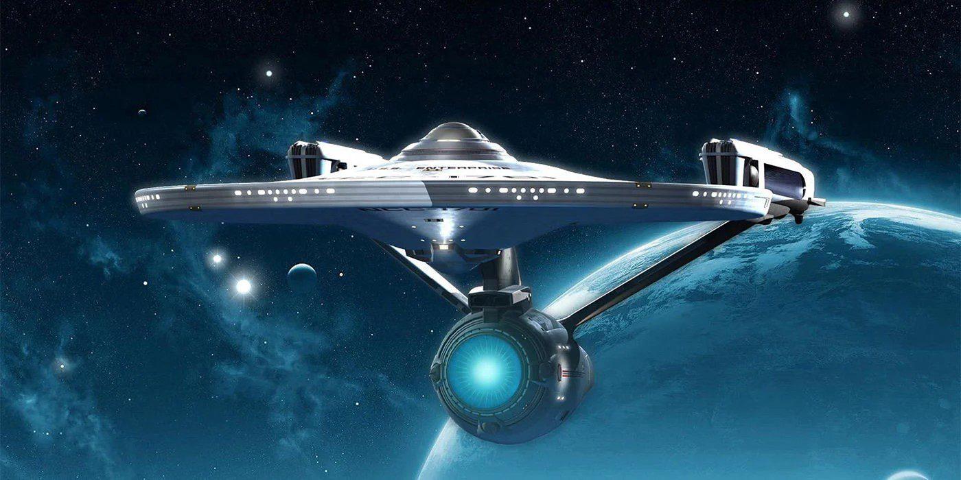 Star Trek Enterprise-πύραυλος αντιύλης
