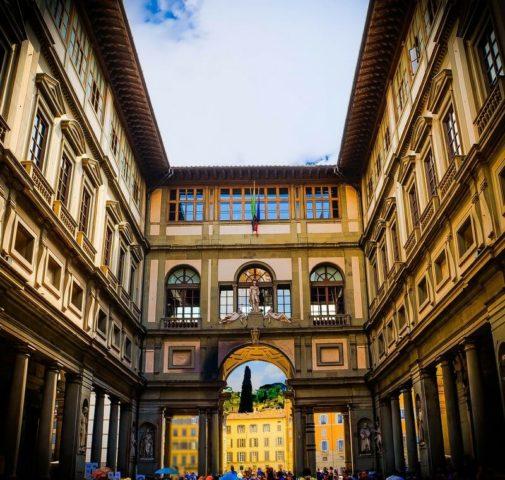 καλλιτεχνικές πόλεις της Ευρώπης Uffizi Gallery