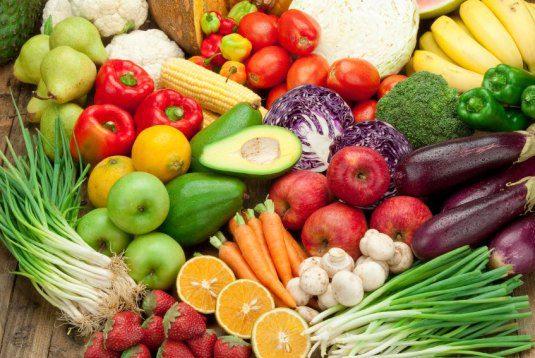 Φρούτα και λαχανικά με λίγους υδατάνθρακες