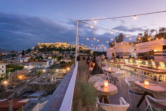 καφετέριες με τέλεια θέα στην Αθήνα
