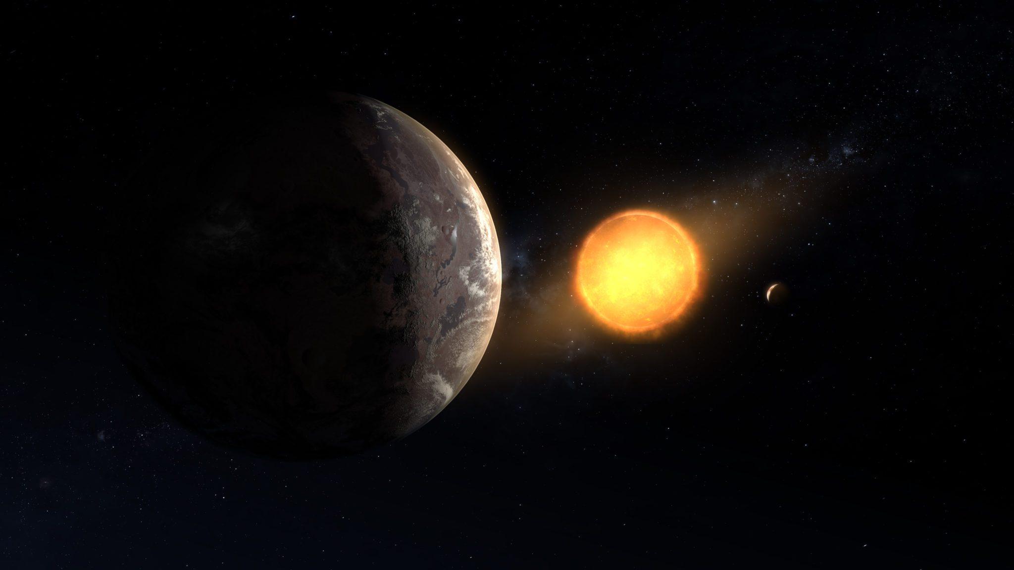 Ο εξωπλανήτης που ανακλύφτηκε μαζί με το άστρο του