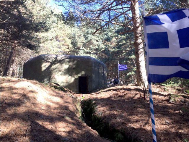 Πηγή εικόνας: hellasjournal.com | Το πολυβολείο Π8 στο όρος Μπέλες, όπου πολέμησε ο Δημήτριος Ίτσιος