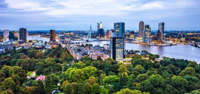 προορισμοί στην Ευρώπη για την Πρωτομαγιά του 2020 Ρότερνταμ
