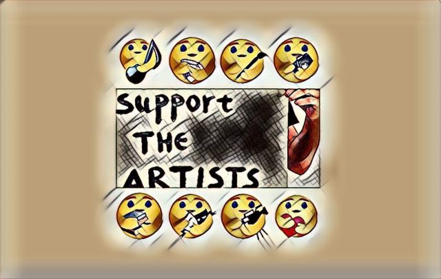 support the art