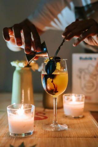 cocktail, rubik's