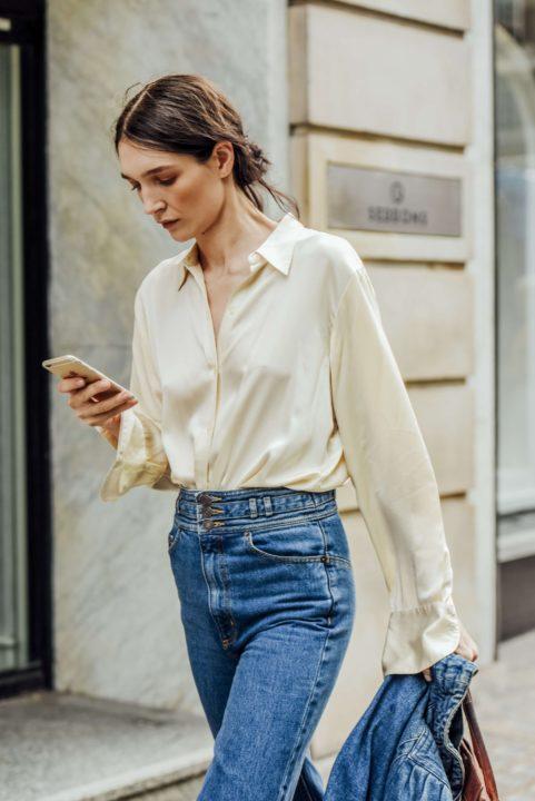 silk μπλούζες