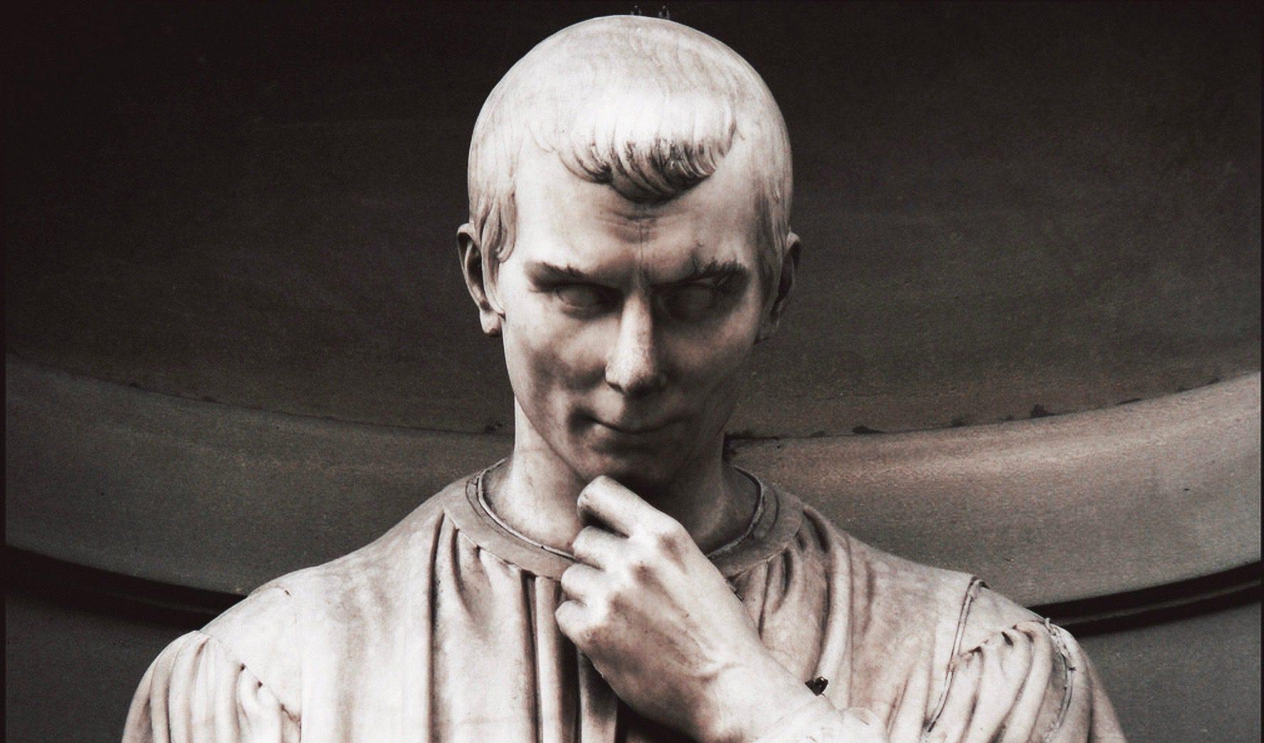 Άγαλμα του Νικολό Μακιαβέλι