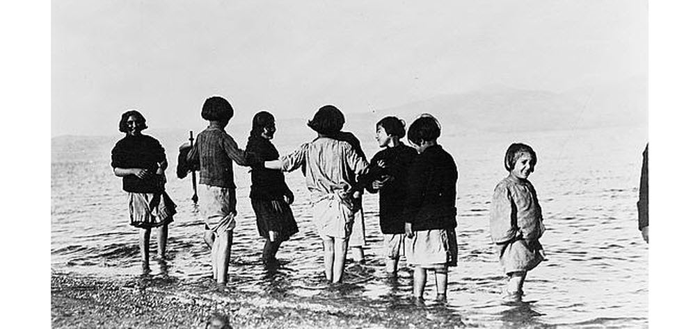 Παιδιά προσφύγων 1922