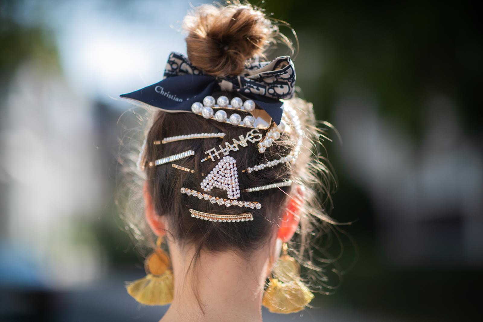 Πέρλες στα μαλλιά: