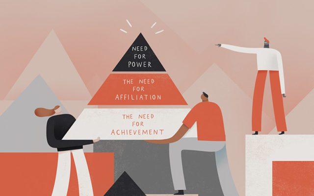Πυραμίδα των αναγκών που απασχόλησαν την μετέπειτα έρευνα