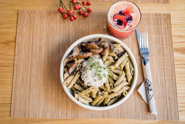 vegan- friendly, pasta
