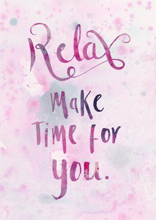 χρόνος για τον εαυτό σου