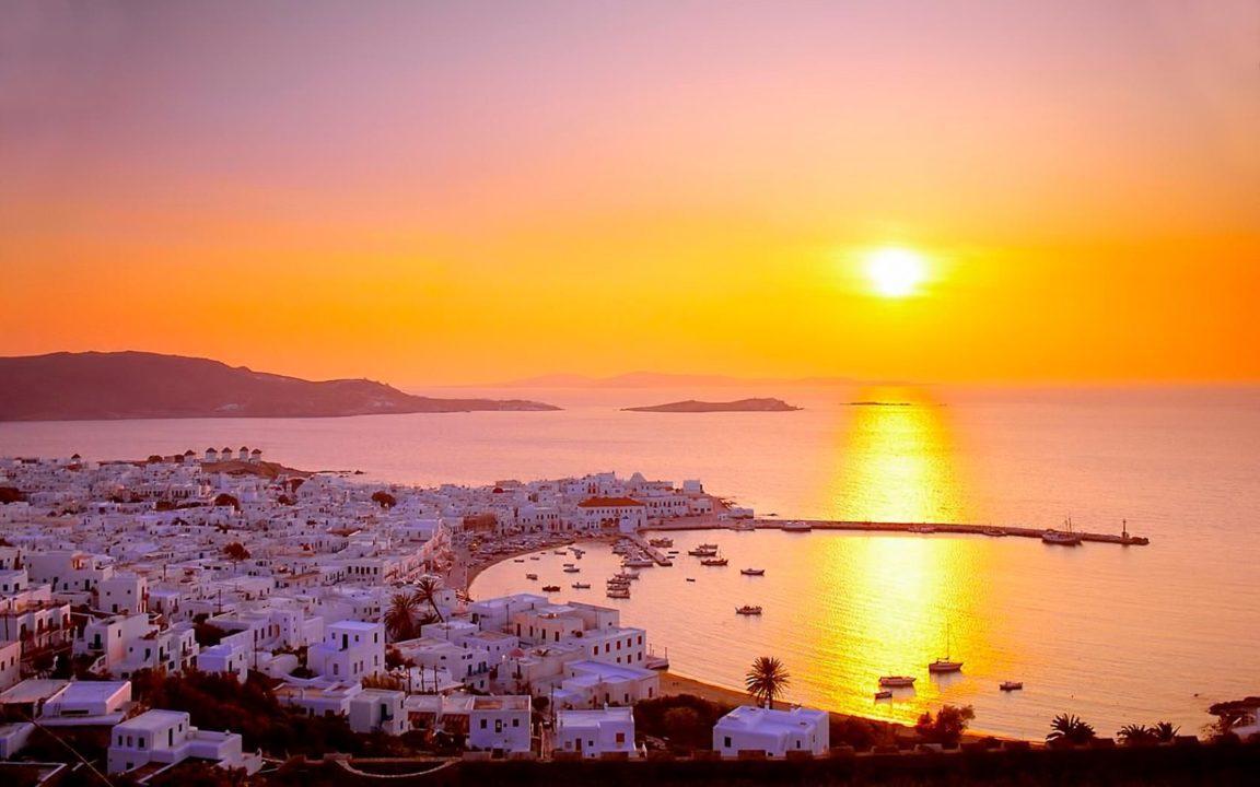 ηλιοβασιλέματα της Ελλάδας