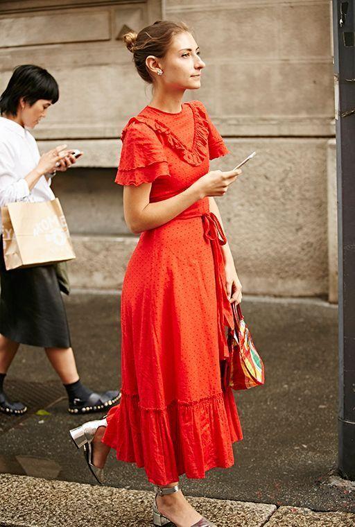 Πορτοκαλί φορέματα
