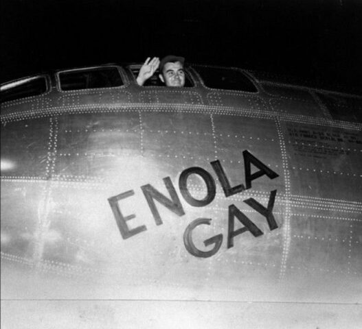 Enola Gay, Paul Tibbets, Χιροσίμα