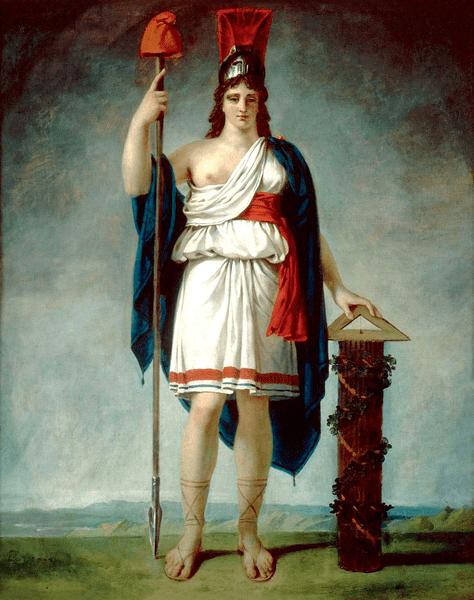 Η αλληγορική μορφή της Γαλλικής Δημοκρατίας