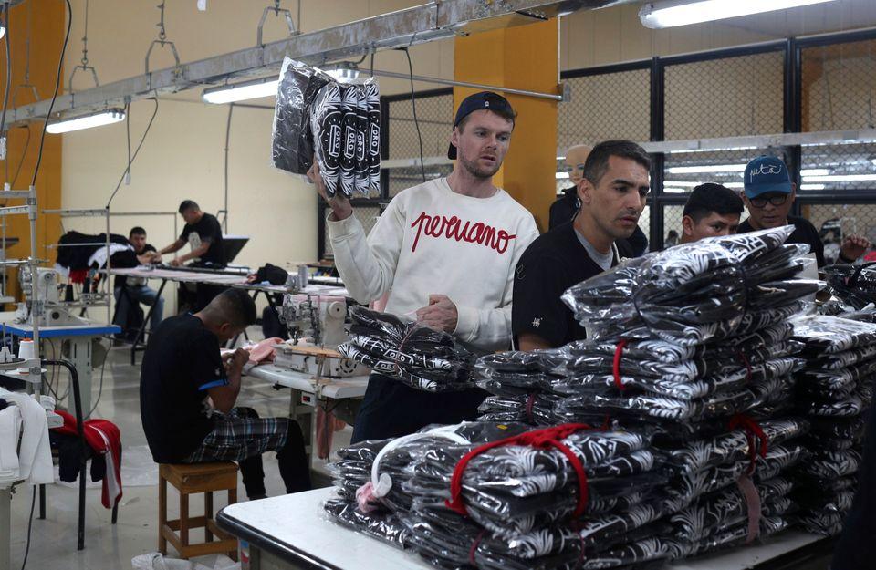 ρούχα από κρατούμενους
