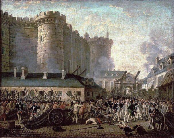 Η Άλωση της Βαστίλης, 14 Ιουλίου 1789