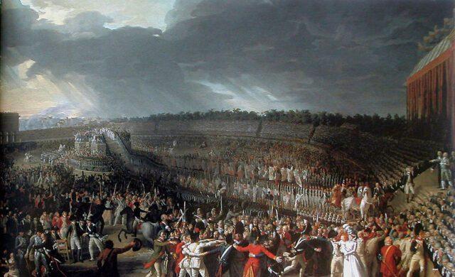 La Fête de la Fédération, le 14 juillet 1790, Charles Thévenin