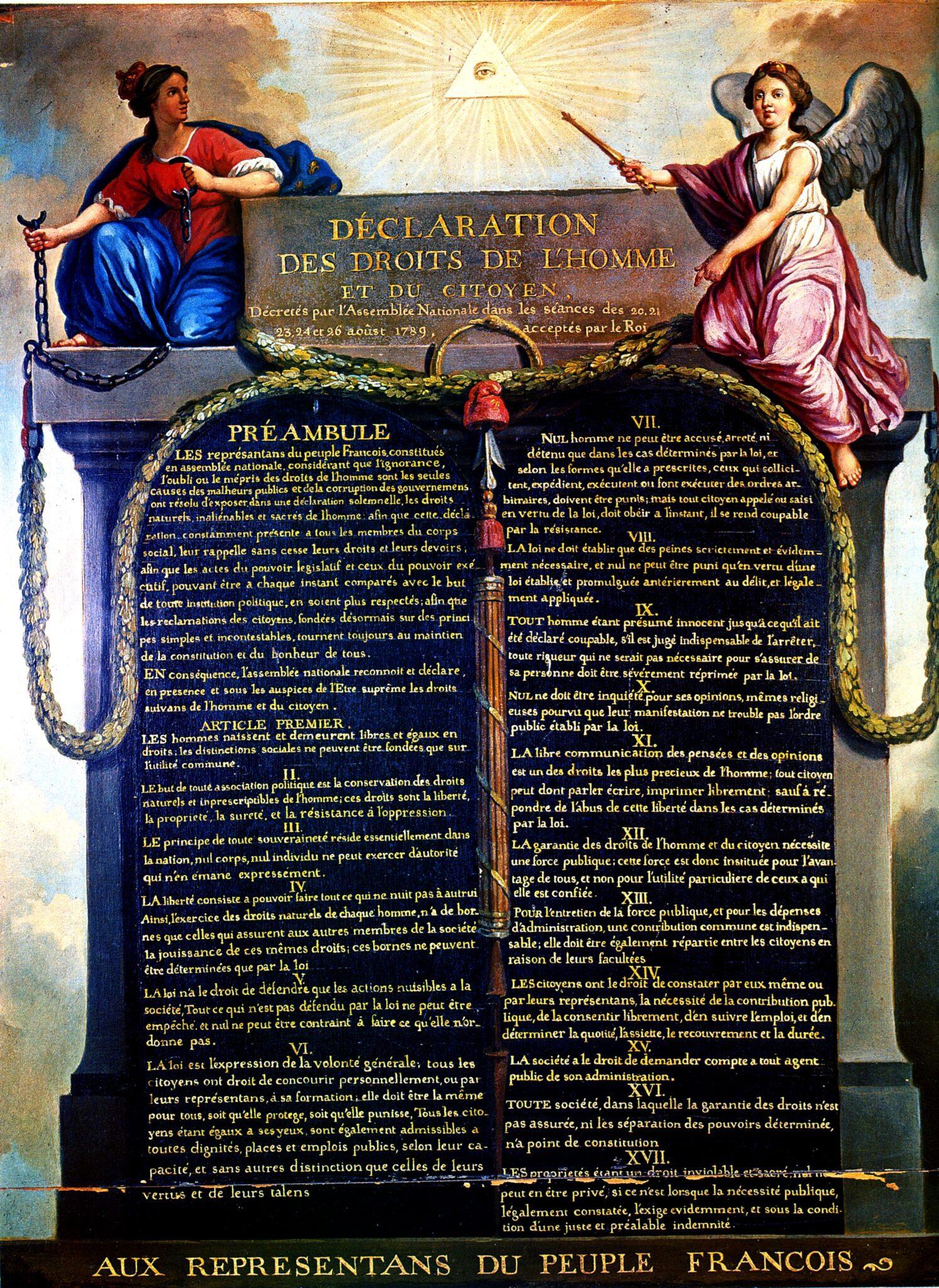 Διακήρυξη των Δικαιωμάτων του Ανθρώπου και του Πολίτη