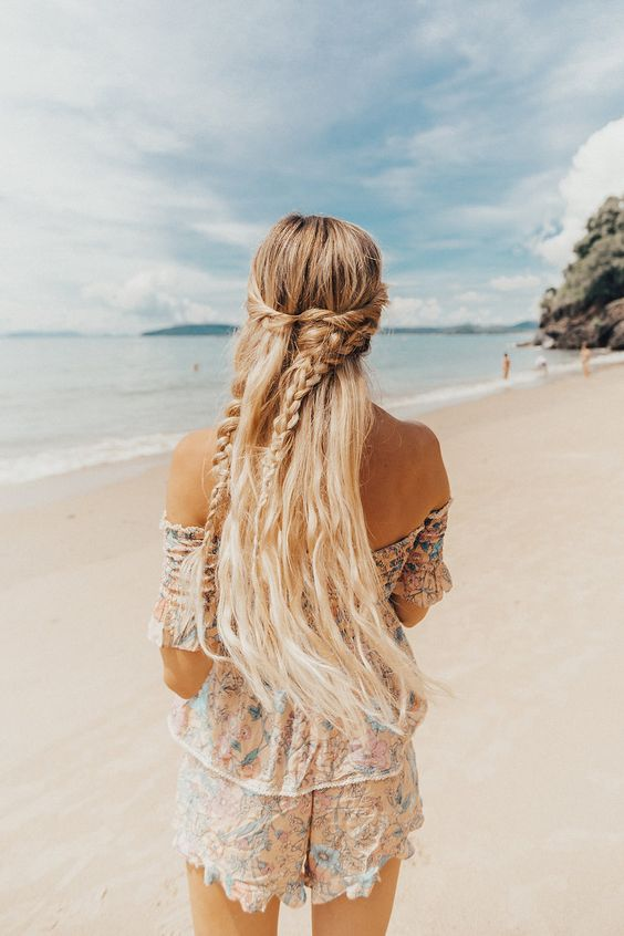 boho-chic-hairstyle