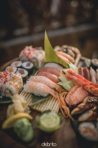 Distinto, sushi