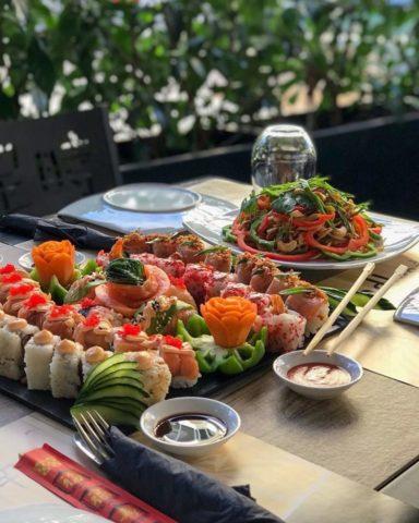sushi bar, ασιατικό