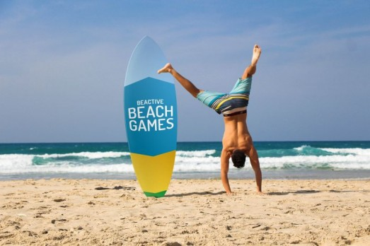 Αθλήματα στην παραλία