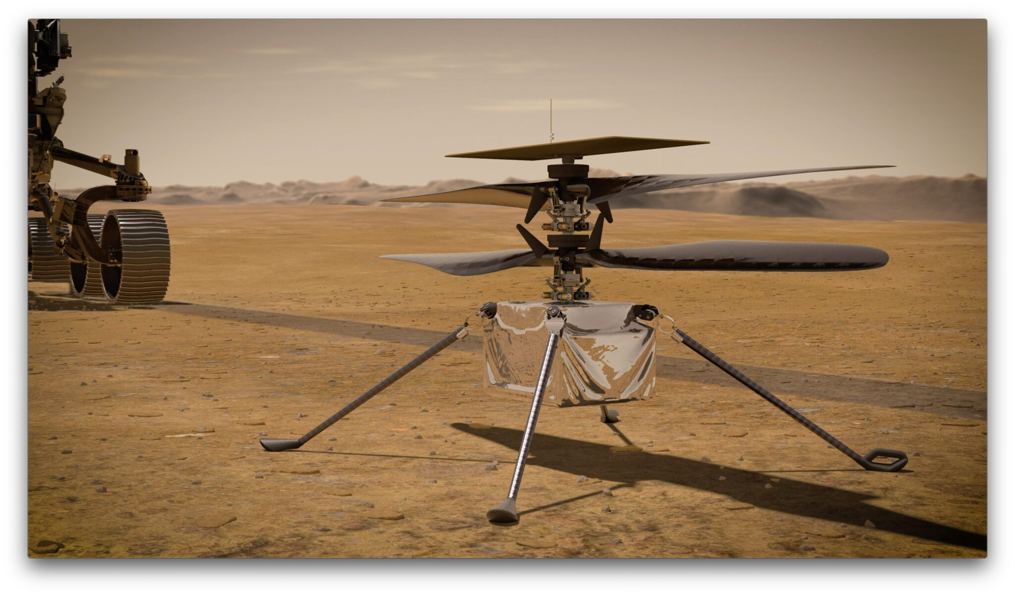 Mars Missions 2020: Ingenuity Helicopter της NASA